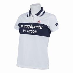 le coq sportif GOLF (ルコックゴルフ)・パネル切替半袖シャツ