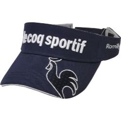 le coq sportif GOLF (ルコックゴルフ)・コットンツイルバイザー
