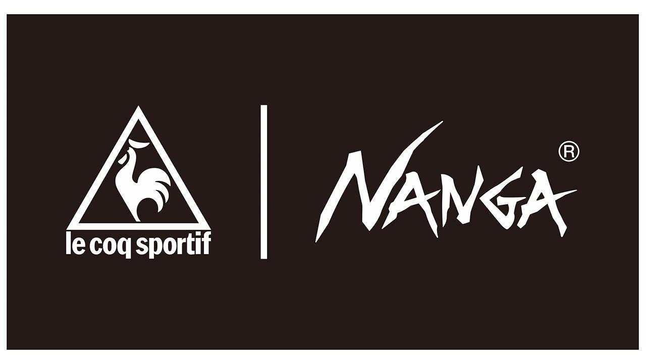 ルコックスポルティフとNANGAのロゴ