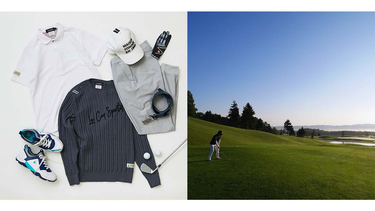 #New Comfort・ゴルフシーン