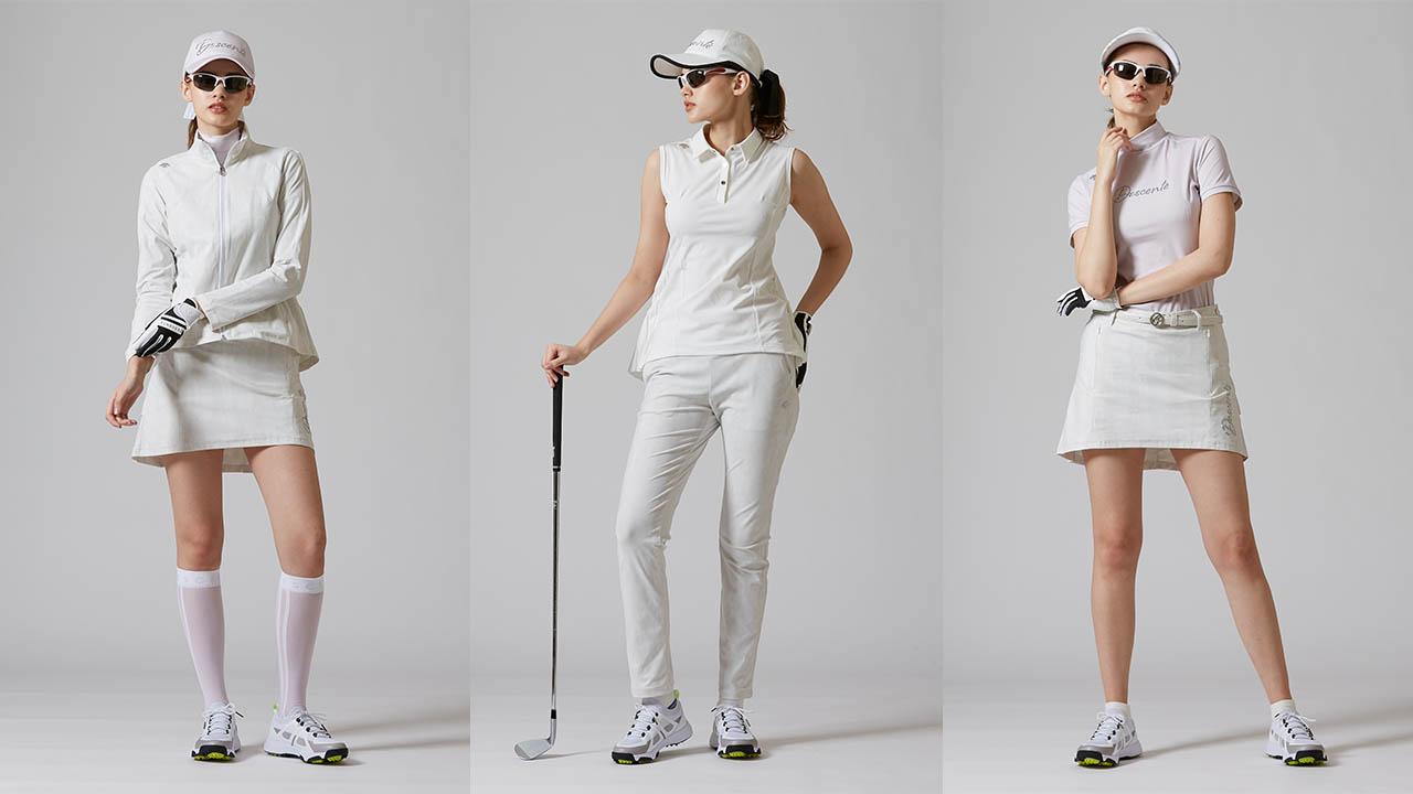 ラグジュアリーなゴルフウェア「LUXE COLLECTION」がデビュー!人気インフルエンサーの着こなしを紹介!