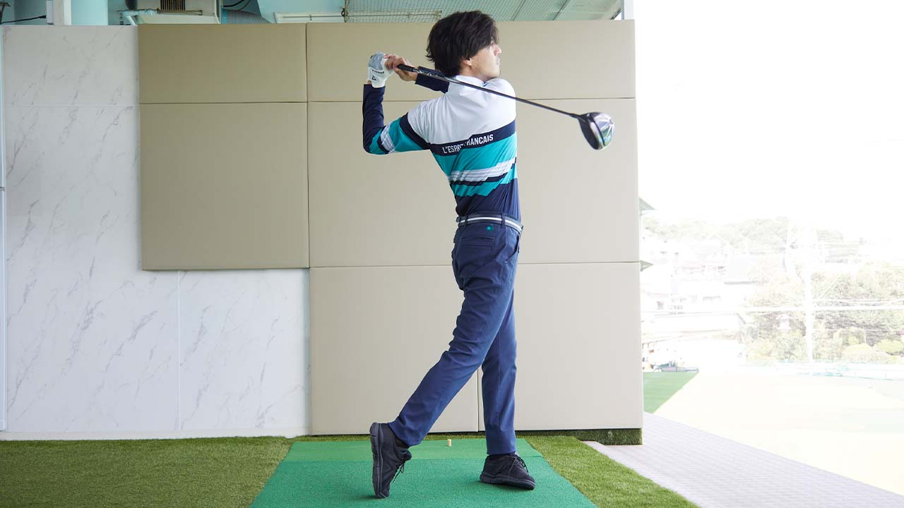 【GetNaviの語らせて!】ゴルフを始めた人必見。ルコックスポルティフ ゴルフ「ゴルファーズシリーズ シャンブレーストレッチロングボトムス」は快適すぎて買い!
