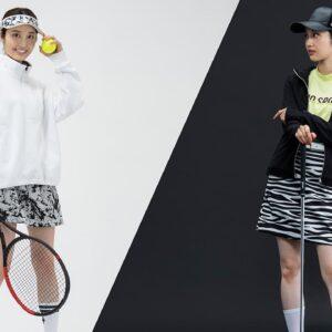 「自分ウケ/異性ウケ」を使い分けるスポーツコーデ12選(ゴルフ・テニス・ランニング)【モデル:藤江萌さん】
