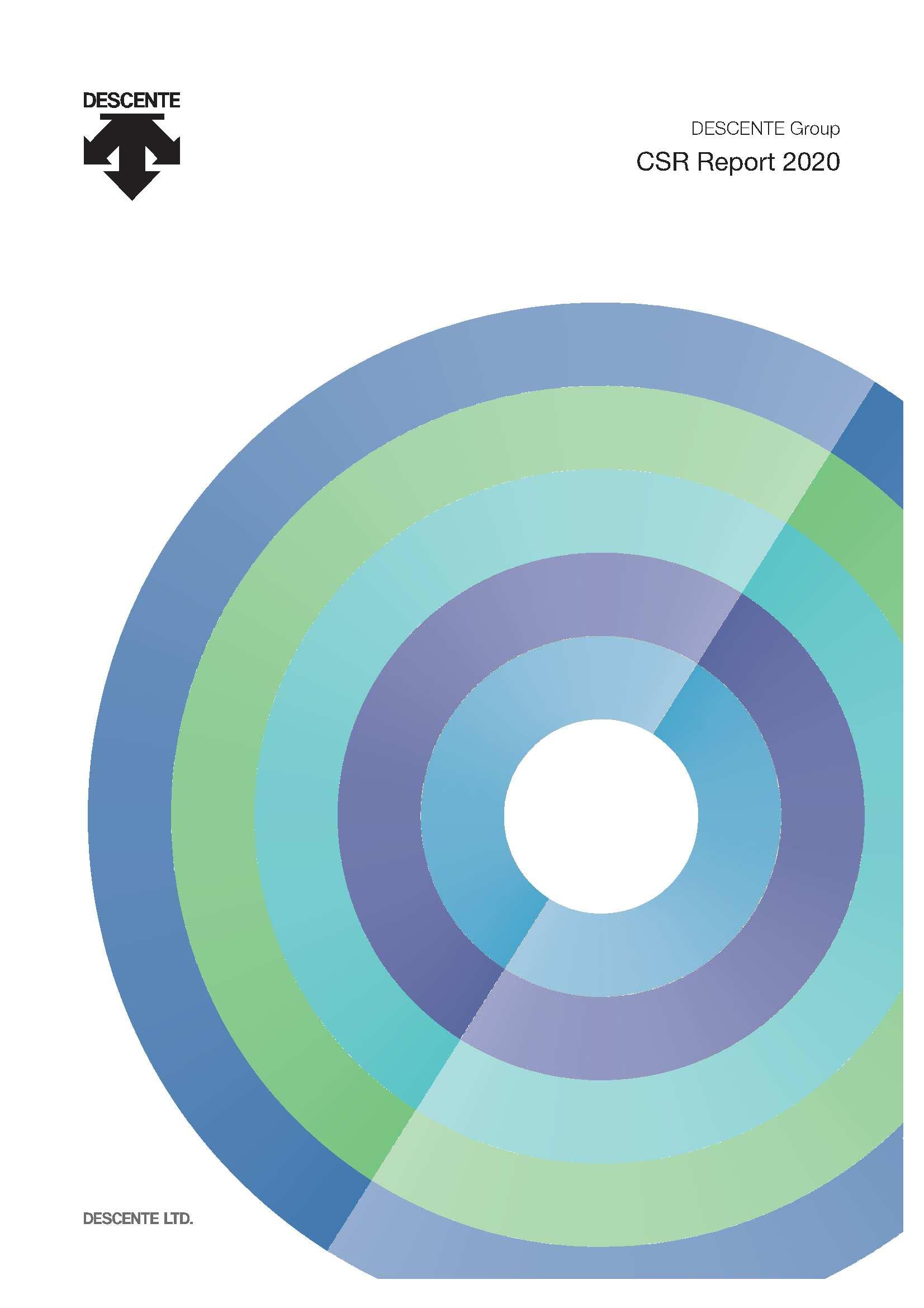 DESCENTE Group CSR Report 2020(English)