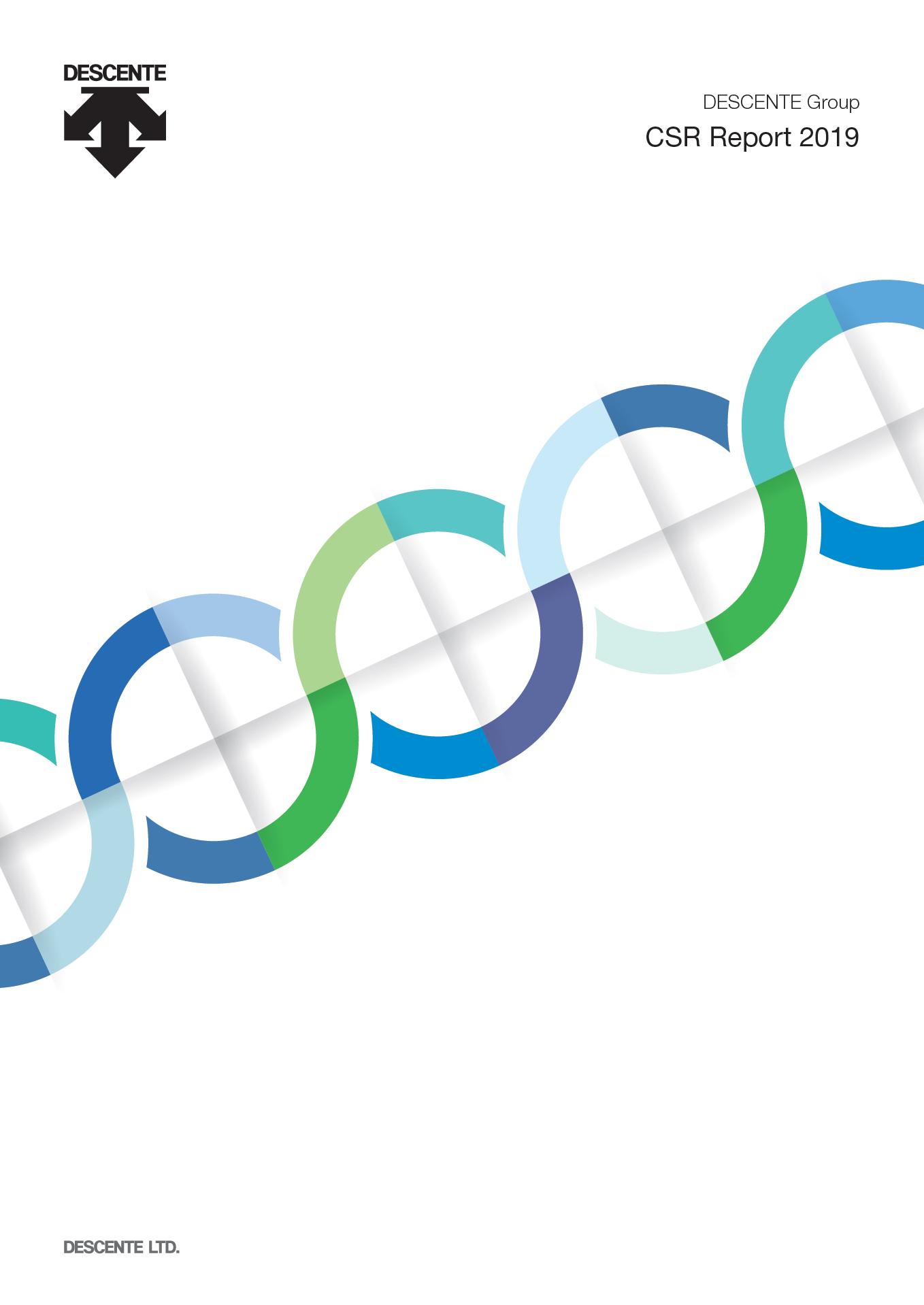 DESCENTE Group CSR Report 2019(English)